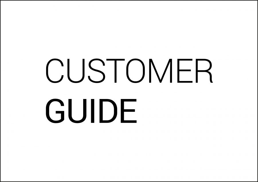 customer guide 1600